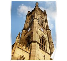 Bombed Out Church - Liverpool Poster