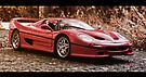 Ferrari F50 Model Supercar by Liam Liberty
