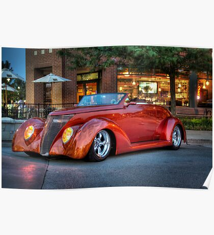 '36 Ford Street Rod Poster