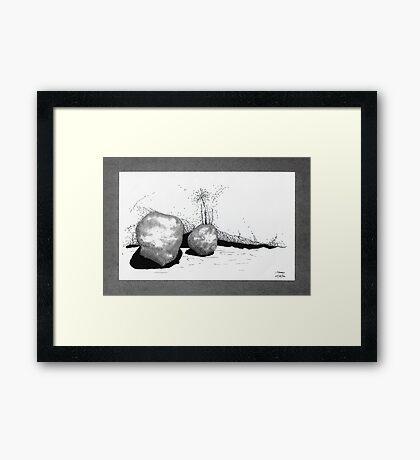 Boulder Birth Framed Print