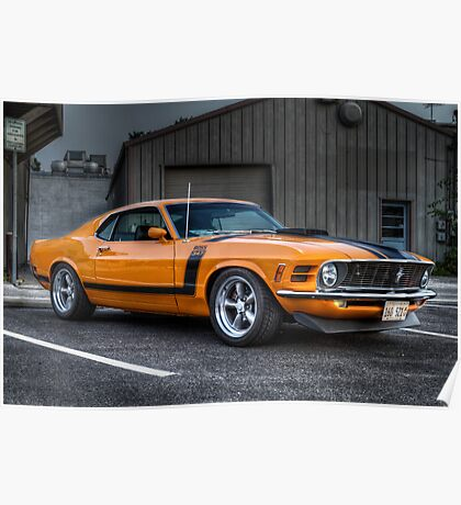 A True American Muscle Car!!!! Poster