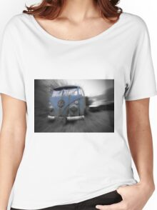 Abandoned VW T1 Camper van Women's Relaxed Fit T-Shirt