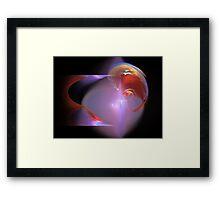Creativity Abstract Fractal Artwork Framed Print