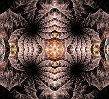 Curiosity Abstract Fractal Art by Archetypus