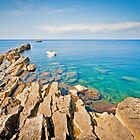 Calm sea in Trapani by mosinski