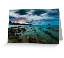 Mupe Bay before dawn Greeting Card