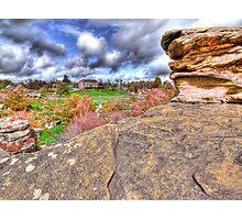 Brimham Rocks - HDR Photographic Print
