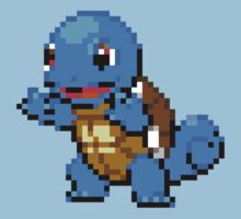 Squirtle - 16bit by Ryan Wilson