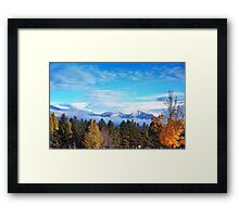 Birth of Winter Framed Print