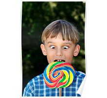 Lovely Lollipop Poster