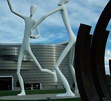 Dancing City Sculptures by Derek Lowe