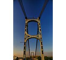 Pont Rouerge - La Reole, France Photographic Print