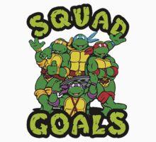 Ninja Turtle -Squad Goals Kids Clothes