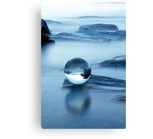 Blue chrystal Canvas Print