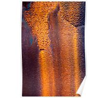 Rusted Waterfall Poster