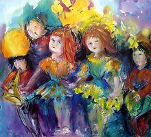 Singing along... by Ivana Pinaffo
