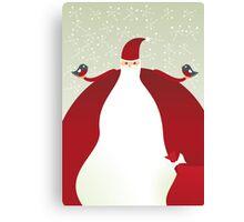 xmas card Canvas Print