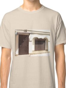 The facade of a small house Classic T-Shirt
