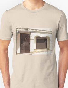The facade of a small house Unisex T-Shirt