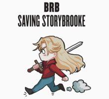 BRB - saving storybrooke Kids Tee