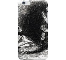 Achille Sirouy Mark Twain Les Aventures de Huck Huckleberry Finn illustration p043 iPhone Case/Skin