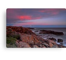 Sunset on Boat Harbour Canvas Print