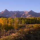 Fall on Dallas - San Juans in Colorado by Susan Humphrey