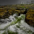 Rough Seas by Charles & Patricia   Harkins ~ Picture Oregon