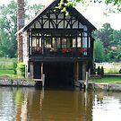 Boathouse on the Thames by Groenendevil