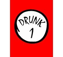 Drunk 1 Photographic Print
