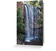 Rushing Falls at Trentham Greeting Card
