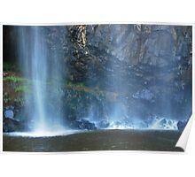 Water Veil Trentham Falls Poster