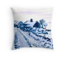Sparrowpit, Peak District, Derbyshire Throw Pillow