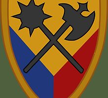 194th Armored Brigade (United States) by wordwidesymbols