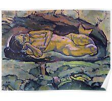 Koloman Moser Meerjungfrau Poster