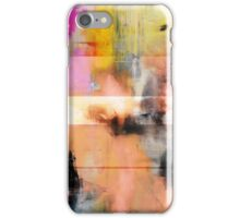 Pink Abstract Painting   iPhone Case/Skin