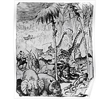 Adolf Oberlaender 1893 Hagenbeck kommt Poster
