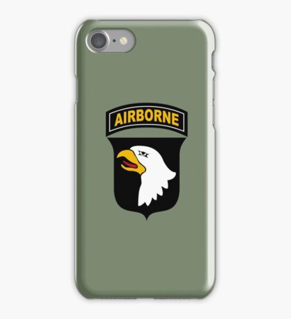 101st Airborne Division (US Army) iPhone Case/Skin