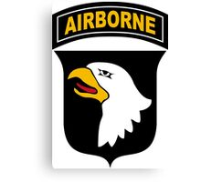 101st Airborne Division (US Army) Canvas Print