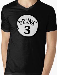 Drunk 3 Mens V-Neck T-Shirt
