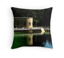 Water Reflects Throw Pillow