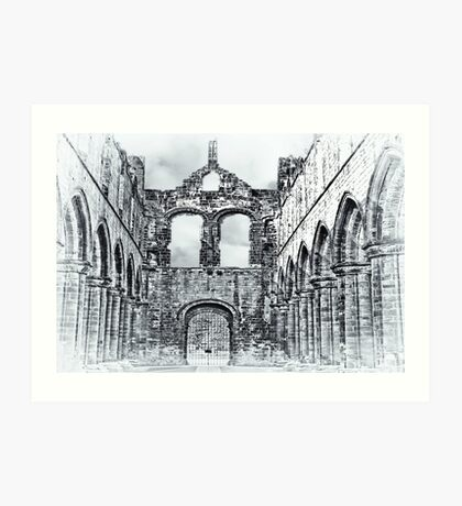 The Ruins of Kirkstall Abbey Art Print