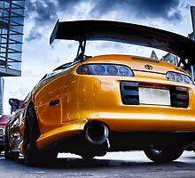 TOYOTA SUPRA - Pimped street car racer Back by benbdprod
