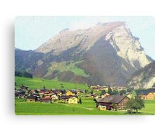 """Village - Reizlern, Austria"" Metal Print"