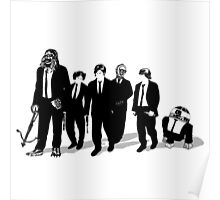 Star War's crew go to wedding Poster