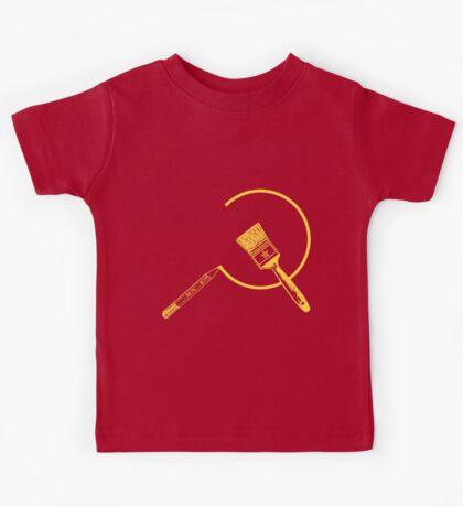 Art Community ( Version 2: Communist Colors ) Kids Tee