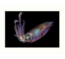 The Squid Art Print