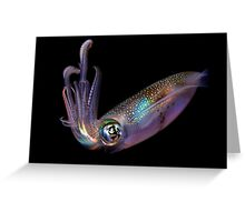 The Squid Greeting Card