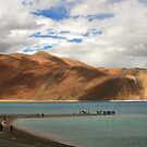 Pangong Lake (Laddakh India) by RajeevKashyap