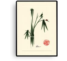 """She Walks in Beauty"" Huntington Gardens Plein Air Ladybug Canvas Print"